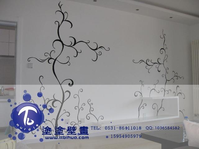 【涂涂壁画】 室内墙面            济南手绘墙 【涂涂壁画】 幼儿园