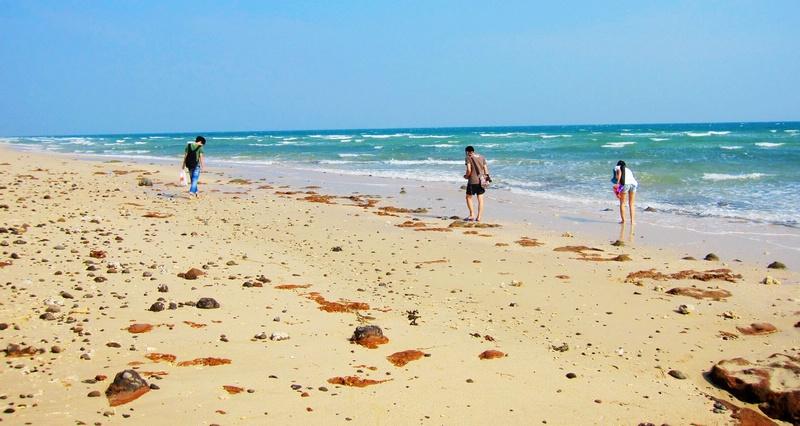 涠洲岛石螺口海滩/天主教堂/贝壳沙滩-两男境地-我的
