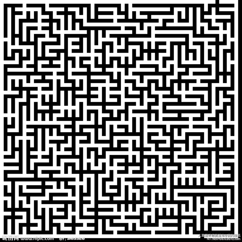 迷宫底纹矢量素材