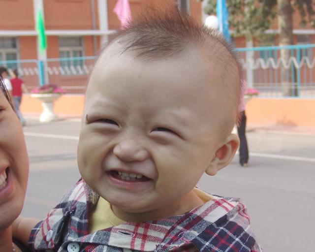 中国加油图片可爱小孩