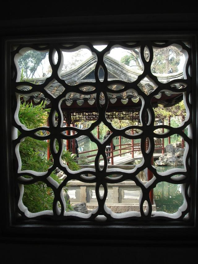 苏州园林二——漏窗-开花的荒野-我的搜狐