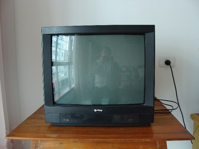 改革开放刚开始时,在县城只有极少数单位有电视机,因为县城的电视转播台还未建立,是直接远距离的接收贵阳的信号,效果不好。我每星期回家晚上就到这些有电视机的单位去找电视看,有的单位把电视机放在会议室里、天晴好时则放在露天场院里让大家观看,而有的单位则就不这么友善了,他们只是自已本单位看,不让外人看,而有的单位可以让你看,但要收钱,在那时,要想看电视真有点难啊。