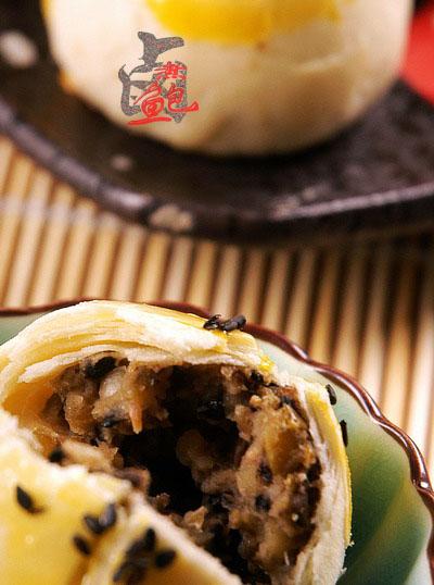 [转载]中式茶点~~绿豆酥皮儿图片