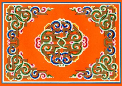 蒙古图案素材