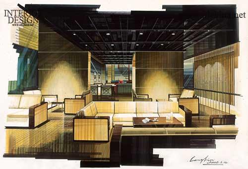 第二届中国室内设计手绘表现图大赛作品展