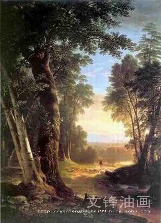 文锋油画-古典风景