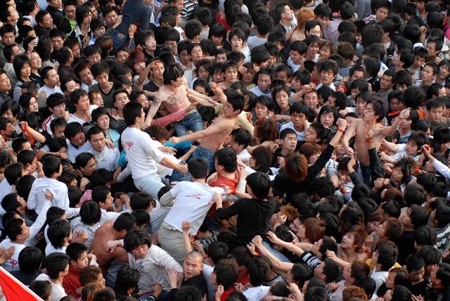 令人窒息的暴力游神,澄海盐灶劳热纪实(20080228)