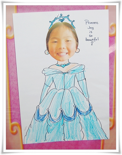 创意简笔画 步骤 公主
