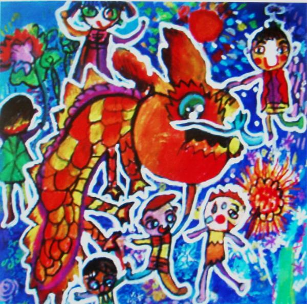 水粉画在色彩上讲究明快,简洁,概括和绘画性,如果画中能多体现这些会