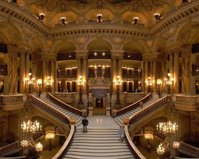 法国建筑之九:巴黎歌剧院