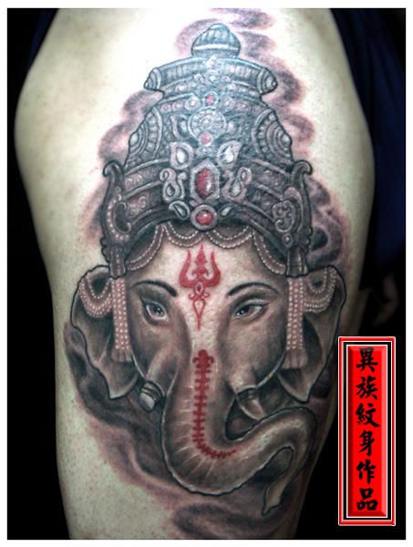 沈阳八面佛纹身 八面佛头纹身手稿