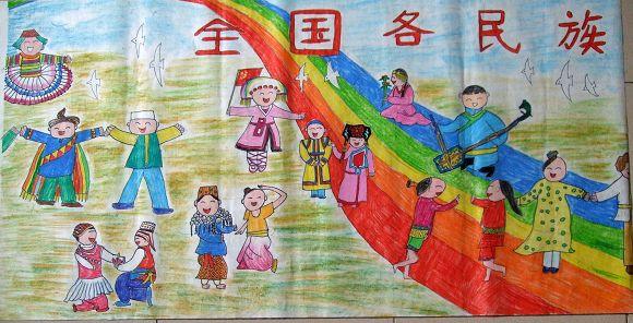 热爱祖国儿童画 心中的祖国儿童画 我的祖国 儿童画-有关热爱祖国的儿