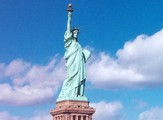 美国_美国自由女神像
