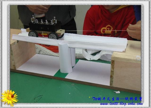 纸桥的步骤图片大全