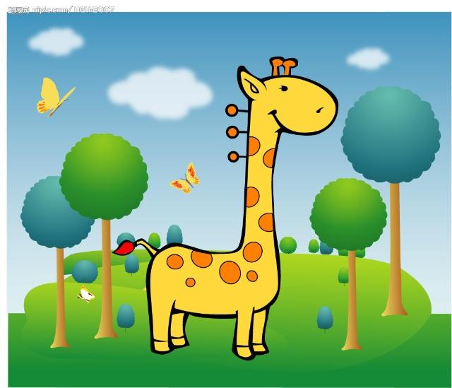 儿童绘画课程主题:美丽的鹿!-杨岩艺术工作室-搜狐博客