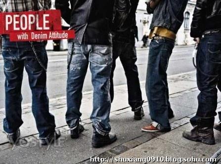 型男着装搭配之牛仔裤