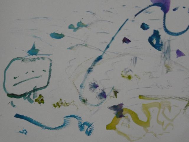 健健画的水彩画