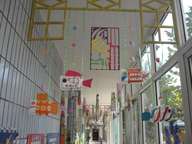 幼儿园环境布置吊饰,幼儿园吊饰布置图片,幼儿园教室布置吊饰,幼儿园图片