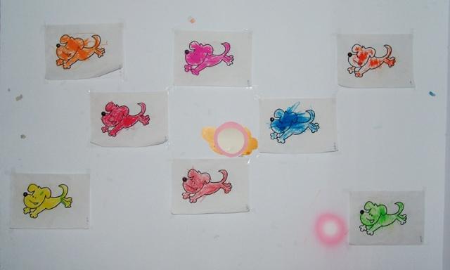 幼儿园教室布置图片小狗