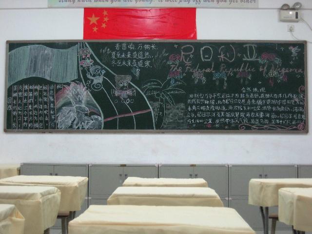 黑板报版面跑道设计