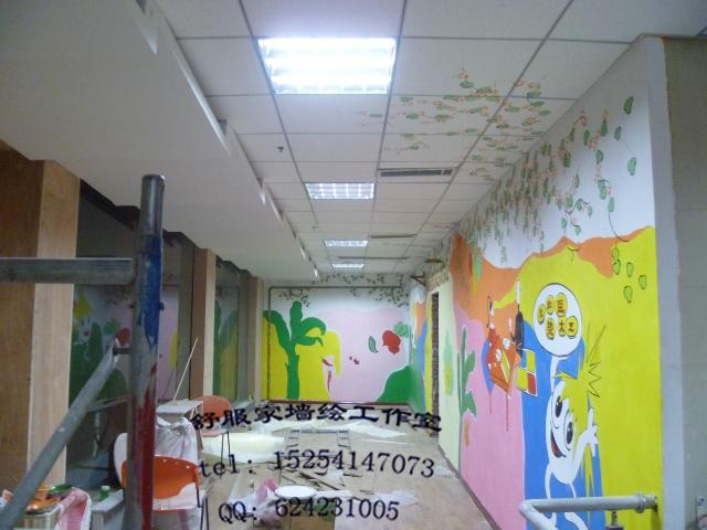 济南艺品墙绘 手绘墙