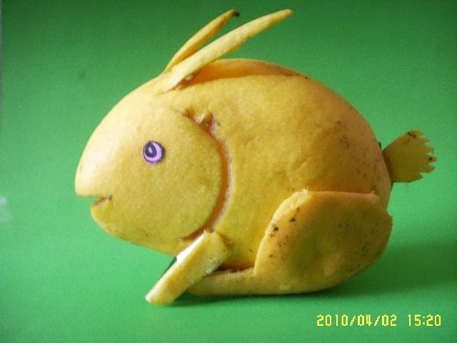 水果做小动物