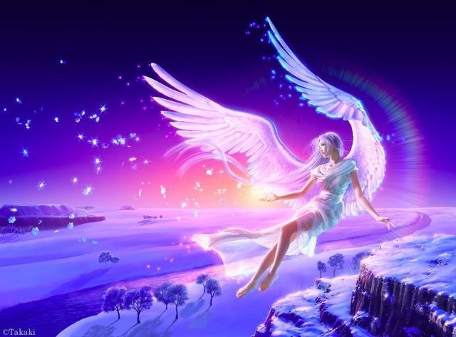 翅膀女人简笔画