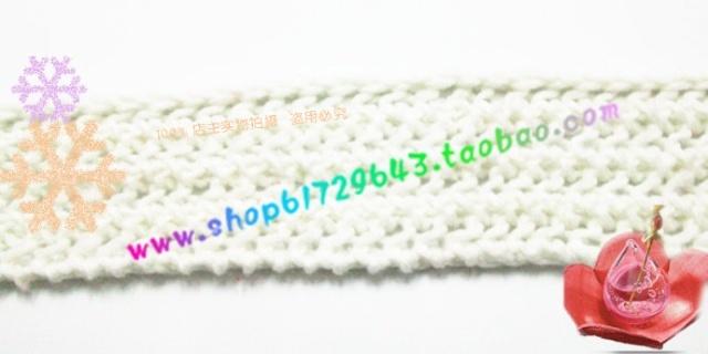 鱼骨针围巾织法视频教程