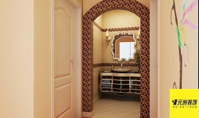 忠诚星月湖 简欧风格 两室一厅 小户型 装修效果图案例赏析