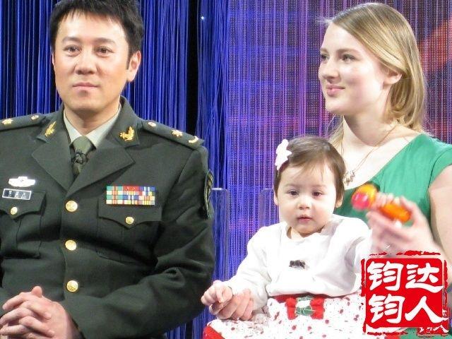 这个混血儿大家看像中国人吗。