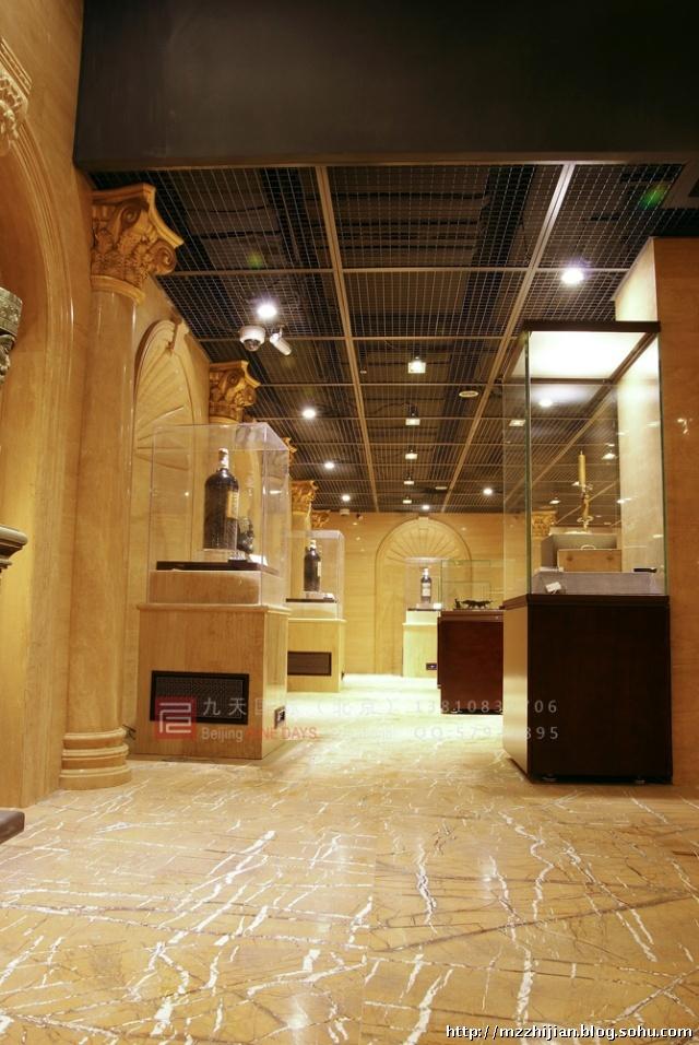 世界级红酒,艺术品,奢侈品博物馆整体解决方案设计 国际商业中心里的
