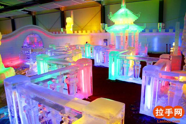 室外冰雕舞台设计