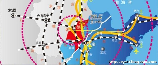 德滨高速到青岛地图