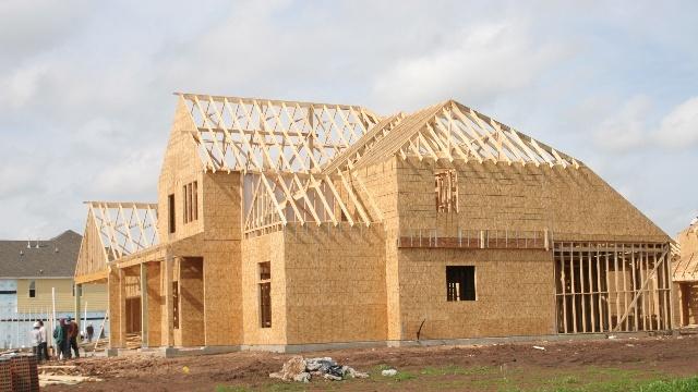 深圳木框架木结构木别墅木房子