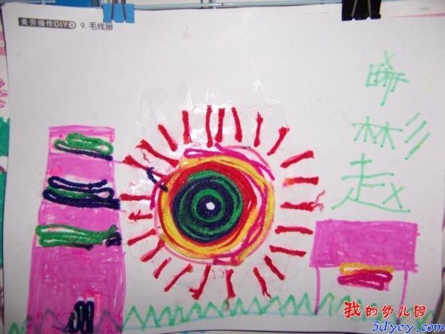 画 作品 t 图片 幼儿 园 粘贴 画 作品 幼儿 蛋壳 .