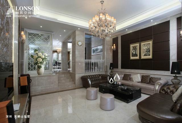 现代别墅设计使用欧式风格或