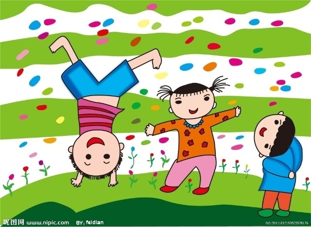 儿童画捉蝉的图片