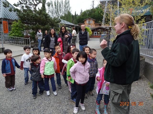 幼儿园春游:动物园